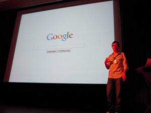 A Google webdesingja