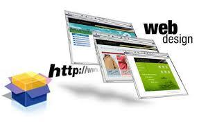 Összetett webdesign munka