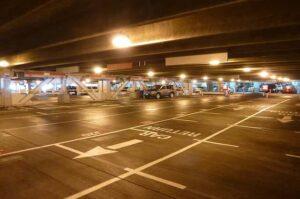 reptéri parkolás olcsón